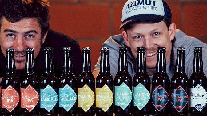 Créateurs de la brasserie Azimut